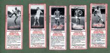 TRADE cards set Typhoo Tea Football Stars, bob Charlton, Bobby Moore